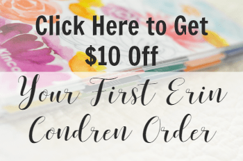 erin condren $10 off coupon