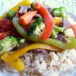 Vegetable Beef Stir-Fry