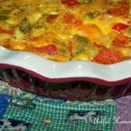 Basic Crustless Quiche Recipe