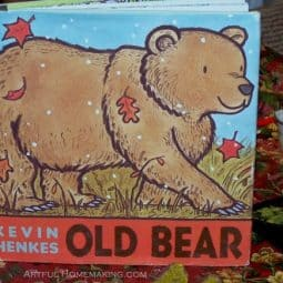 Old Bear Art Lesson