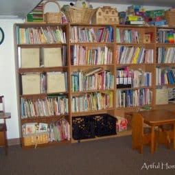 Our Homeschool Room and Playroom