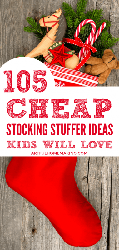 105 Cheap Stocking Stuffer Ideas