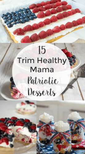 Stay on-plan this 4th of July with these THM patriotic desserts!