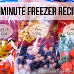 Simplify Your Life With Your Freezer and Slow Cooker
