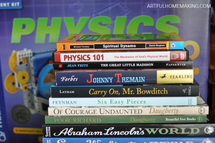 living books science homeschool