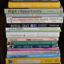What I'm Reading This Year for Encouragement