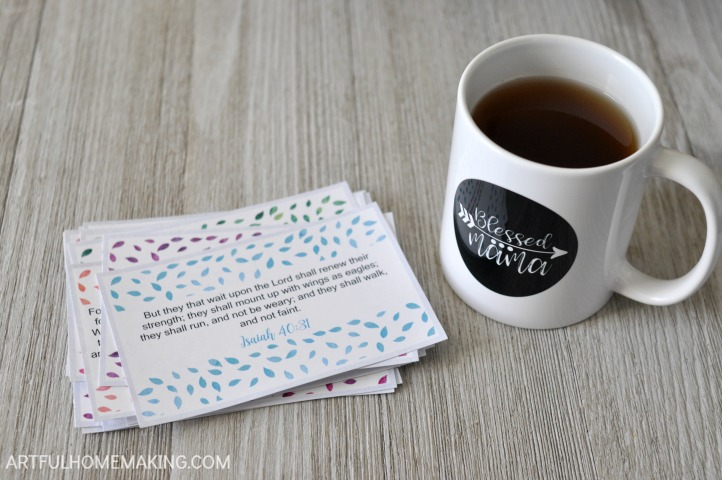 Printable Bible Verse Cards for Moms