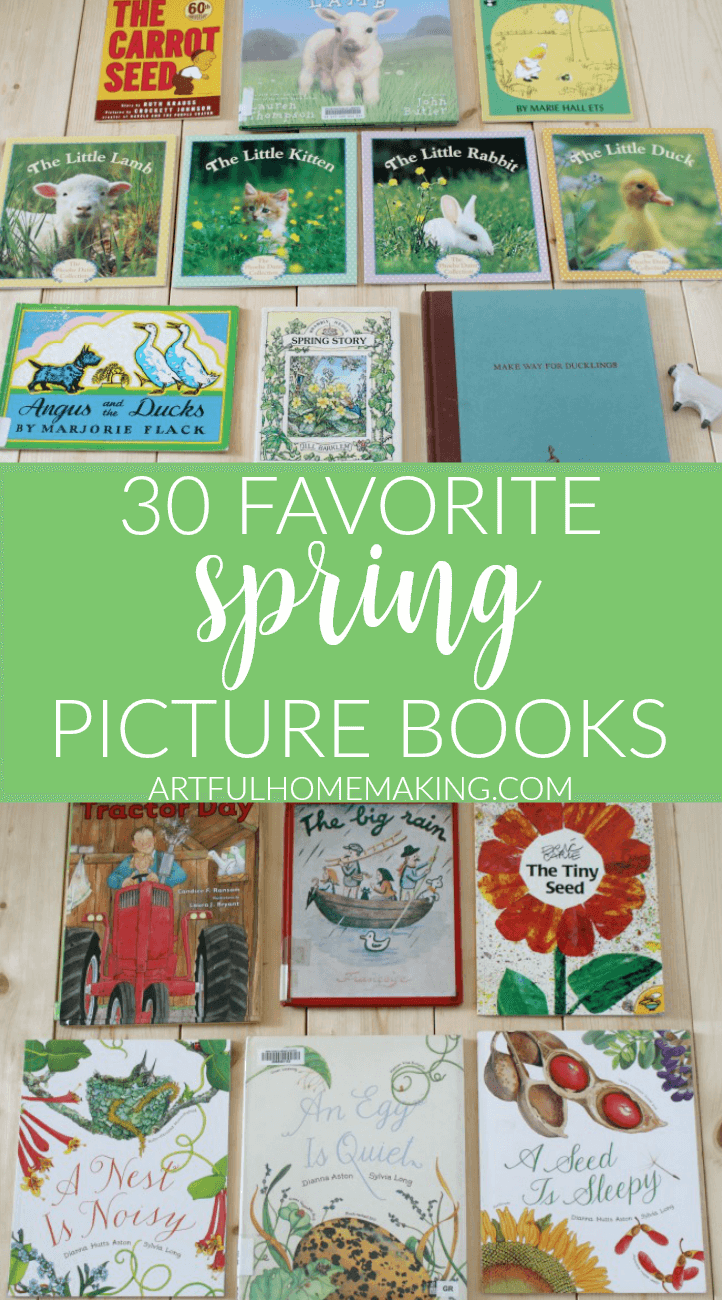 30 Favorite Spring Picture Books for Kids