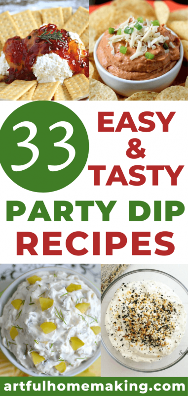 easy party dip recipes