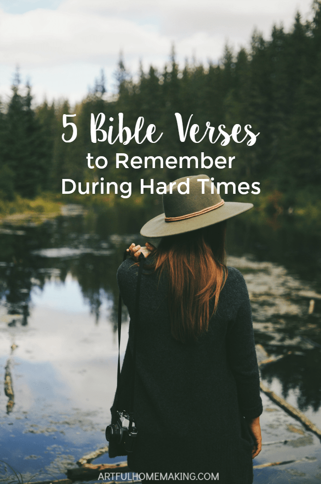 5 encouraging Bible verses to remember during hard times!