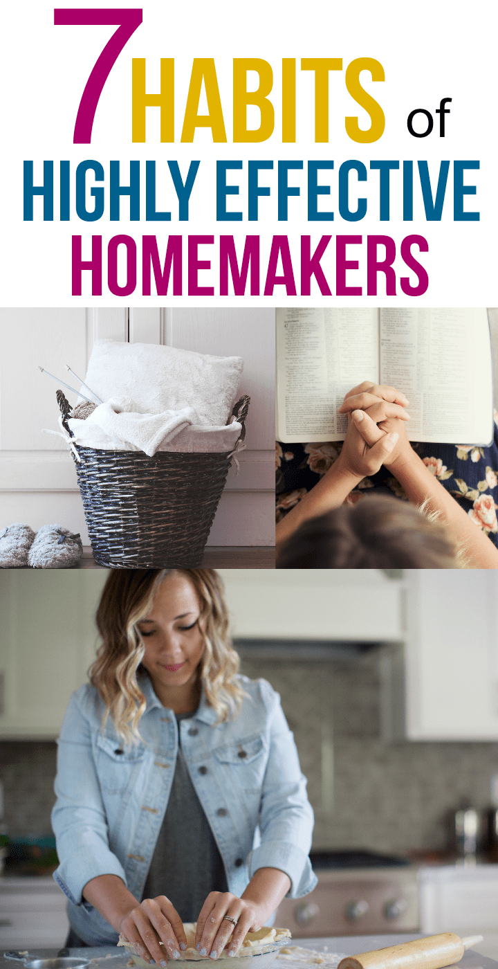I love the advice in this post for becoming a successful homemaker!!!