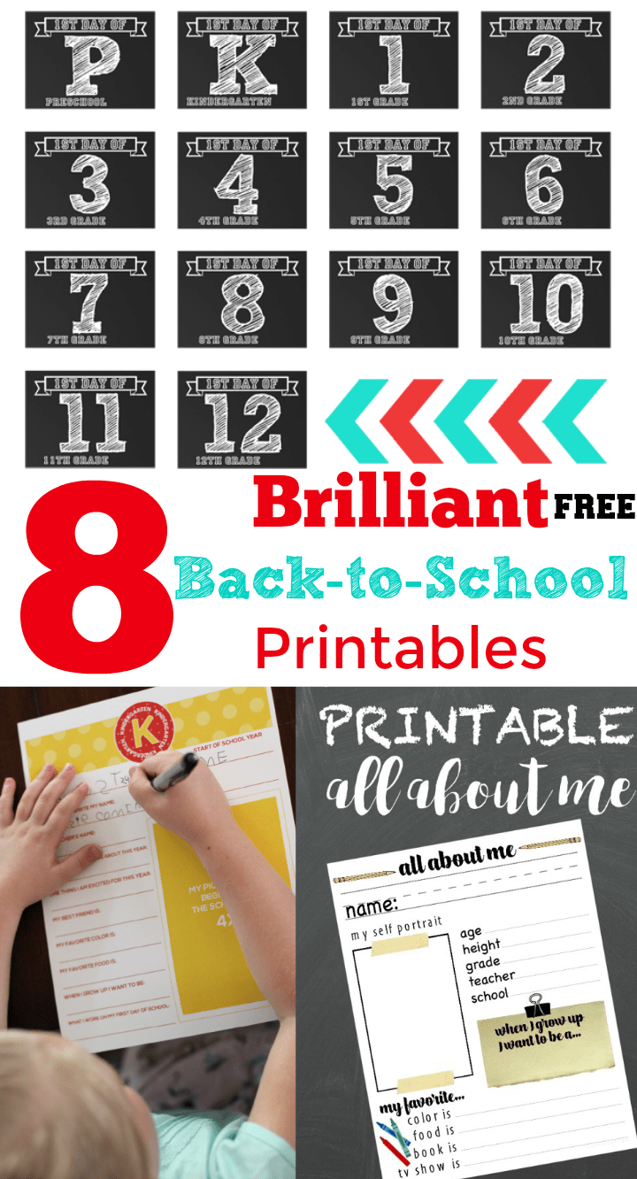 These are some of the best back-to-school printables ever!