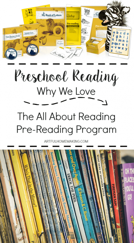 This is my absolute favorite preschool reading readiness program!