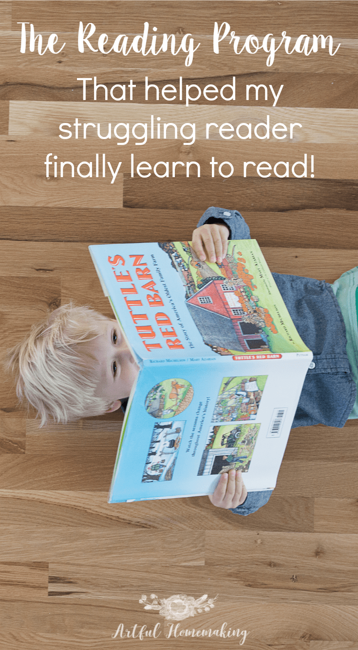 "This reading program is what finally made reading ""click"" for my struggling reader!"