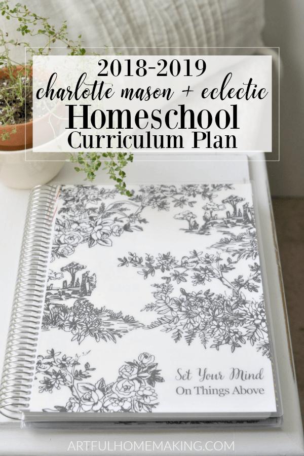 Charlotte Mason Homeschool Plan