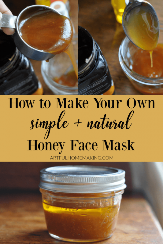 DIY Honey Face Mask Tutorial