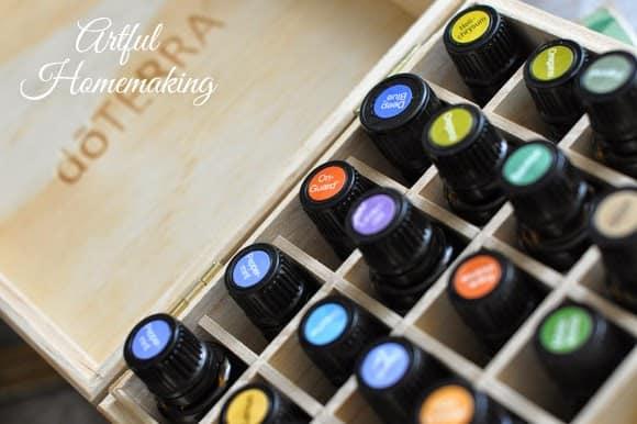 using essential oils for illness