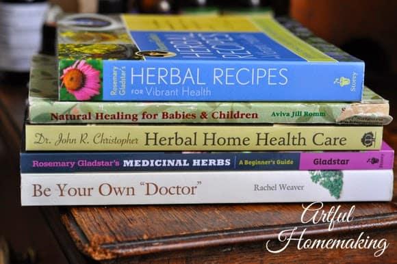 natural remedies books