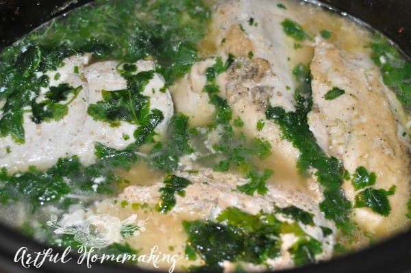 freezer to crockpot cilantro lime chicken