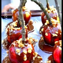 Healthier Caramel Apples
