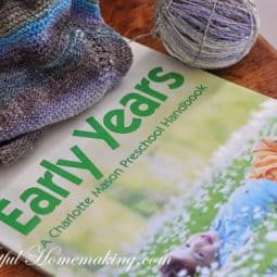 A Bit of Knitting and Reading