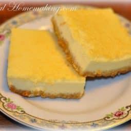 Lemon Bars {Gluten Free}