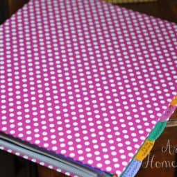 Creating New Routines and a New Homemaking Binder