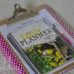My New Homemaking Binder + A Planner Giveaway!
