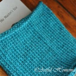 A Finished Wintry Weather Cowl