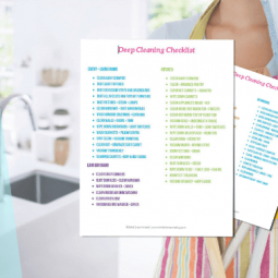 How to Deep Clean Your House | Deep Cleaning Checklist