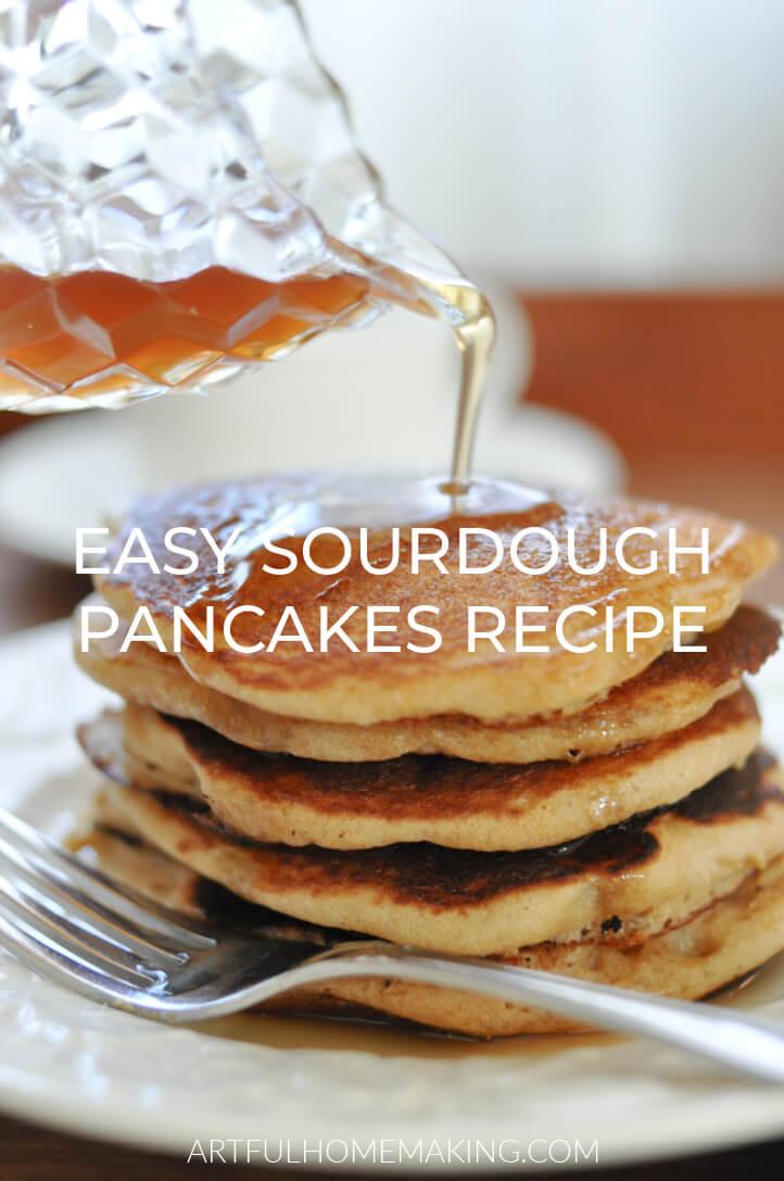 Sourdough Pancakes Easy Recipe