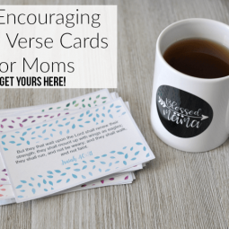 24 Printable Bible Verse Cards for Moms