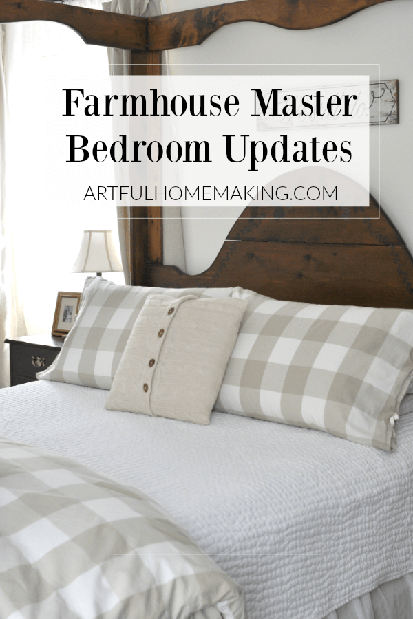 Farmhouse Master Bedroom Updates