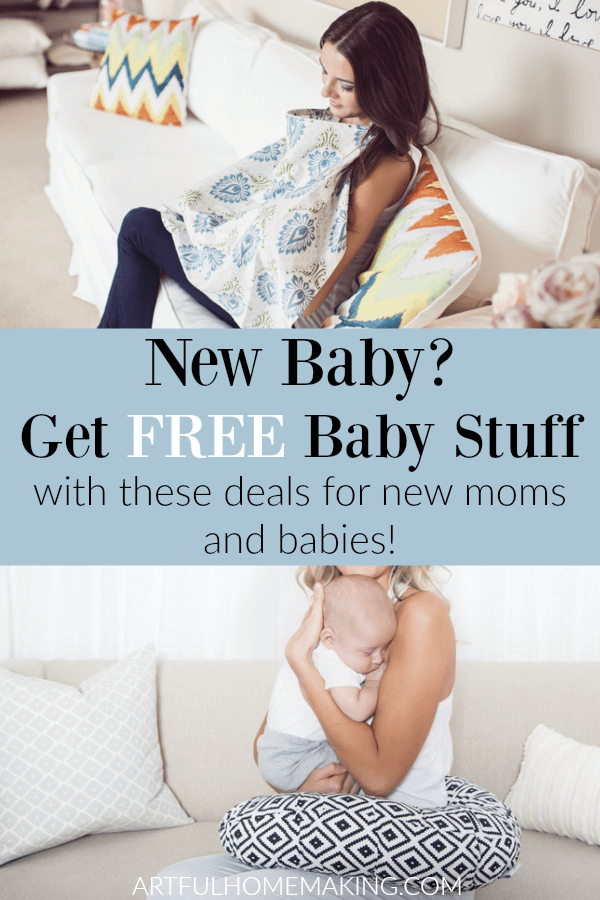 Best Freebies for New Moms and Free Baby Stuff