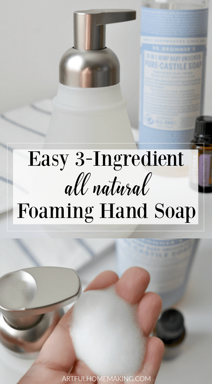 How to Make Foaming Hand Soap