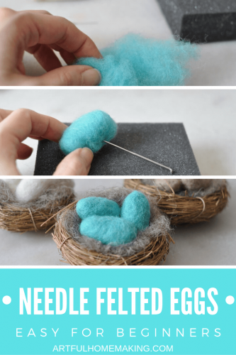 How to Needle Felt Beginner Project