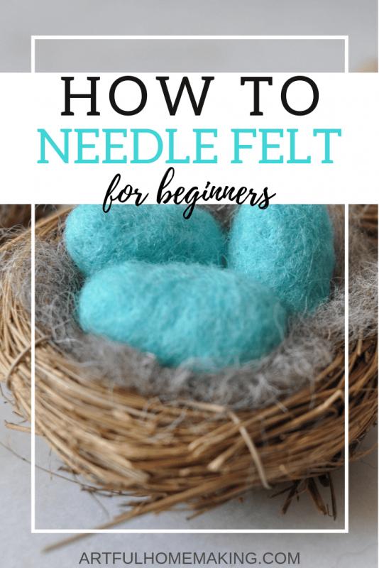 How to Needle Felt
