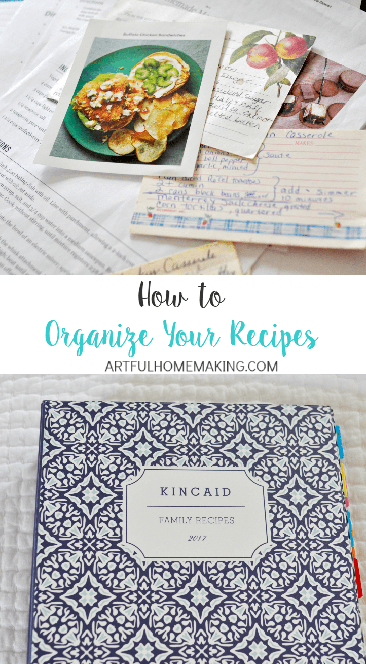 Get your recipes organized with these 3 simple steps!