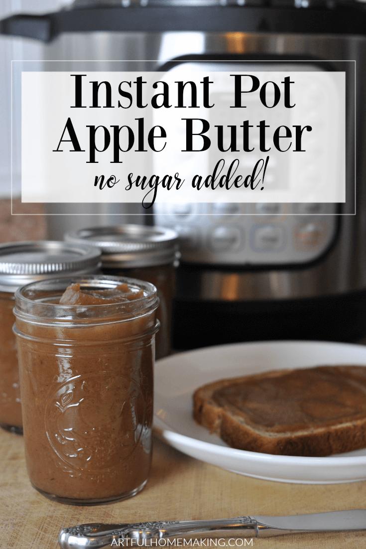 Instant Pot Apple Butter Recipe