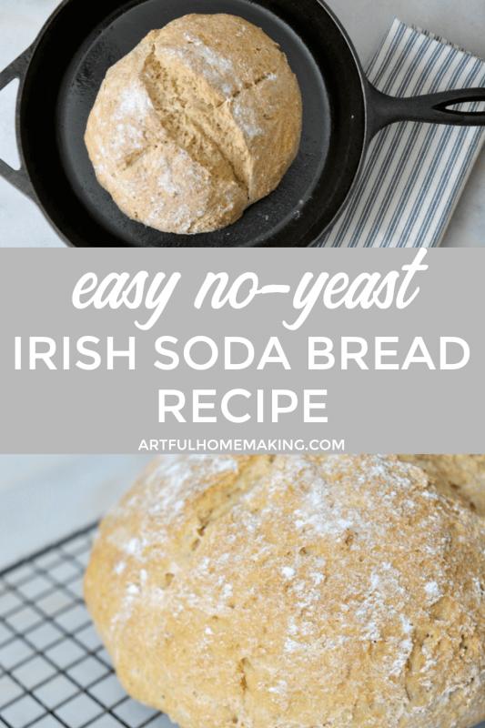 Irish Soda Bread Traditional Recipe