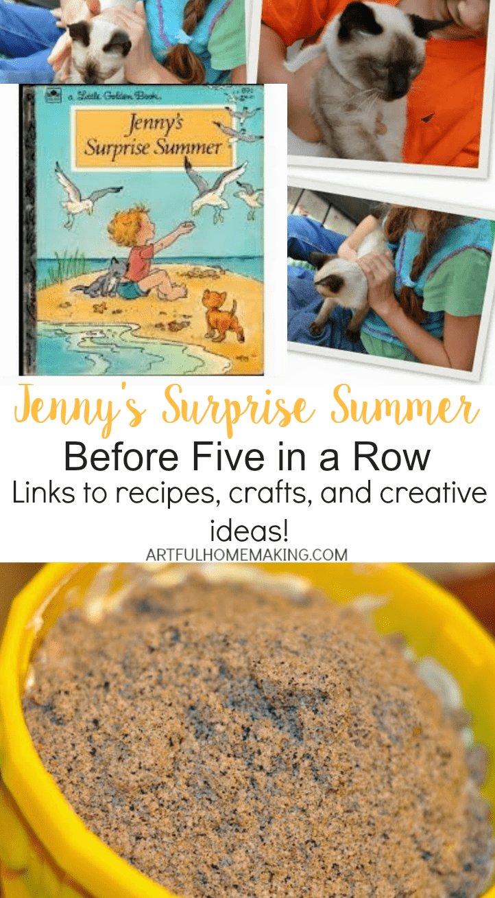 Links to recipes, crafts, and creative ideas for Jenny's Surprise Summer BFIAR!