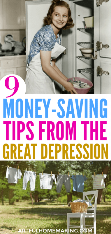 Money-Saving Tips from the Great Depression
