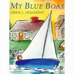 My Blue Boat {Before Five in a Row}