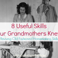 8 Useful Homemaking Skills