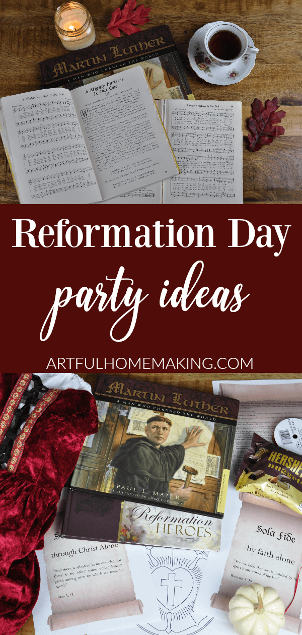 Reformation Day Party