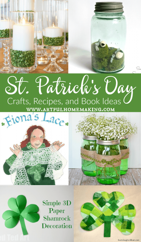 St. Patrick's Day Crafts, Recipes, Books, and Ideas!