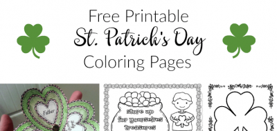 St. Patrick's Day Coloring Pages Free