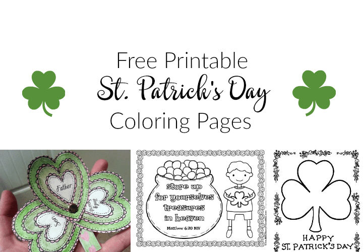 graphic about Free Printable St Patrick Day Coloring Pages named St. Patricks Working day Coloring Webpages and Cost-free Printables