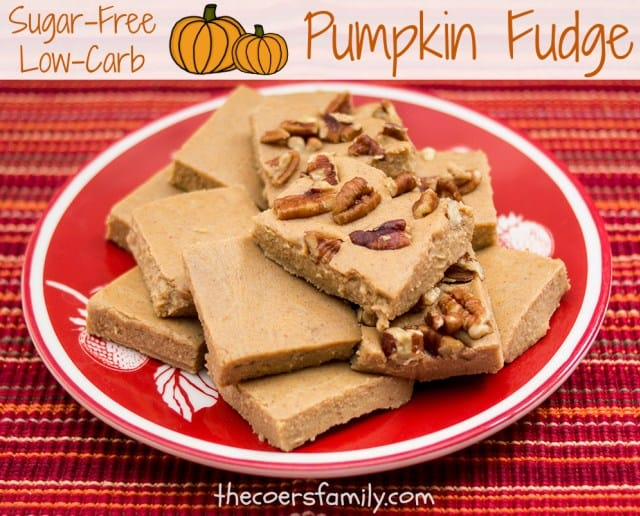 trim healthy mama pumpkin fudge