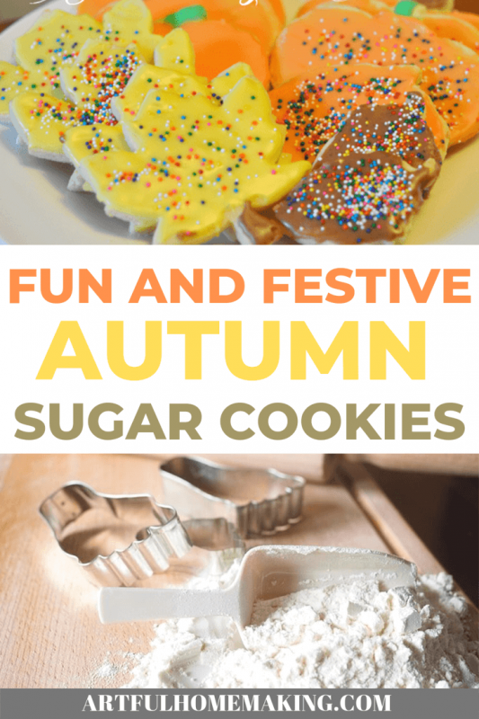 Autumn Sugar Cookies